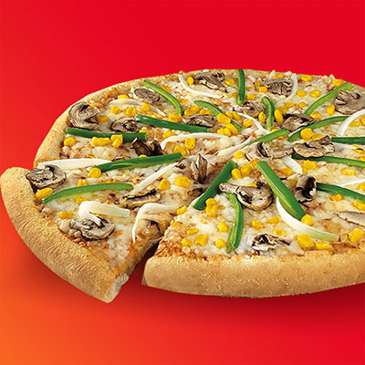 pizza vegetarianaA